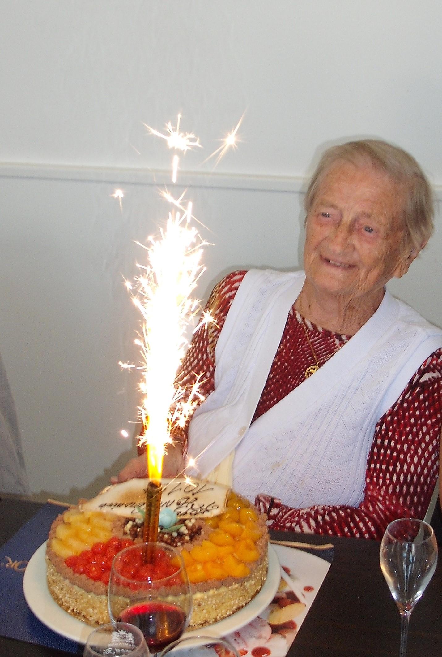 Margot; 101 ans, ça se fête !