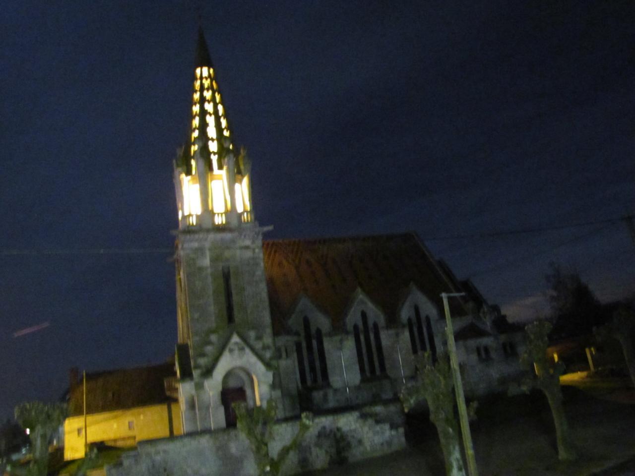 eglise nuit -2-