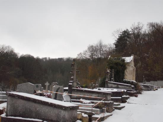 le cimetière hiver 2011