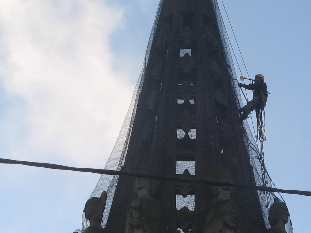 mise en sécurité du clocher