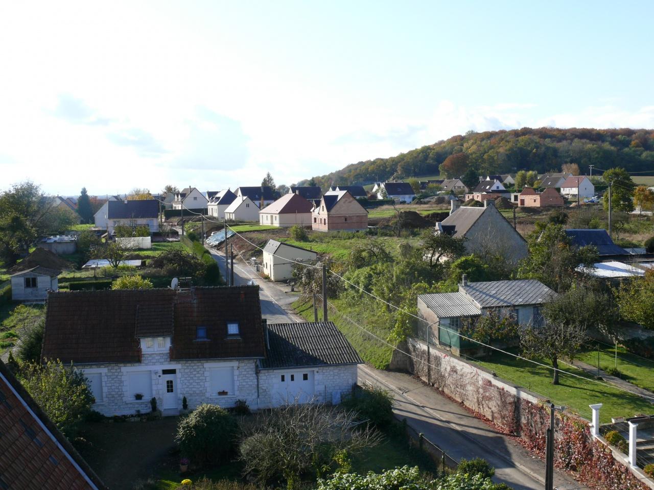 Brancourt vu du haut du clocher