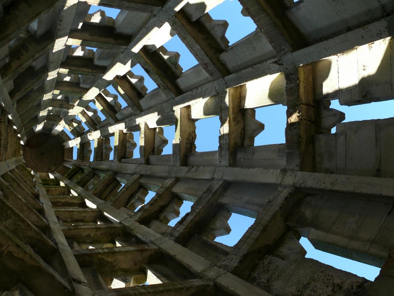 vue intérieure du clocher
