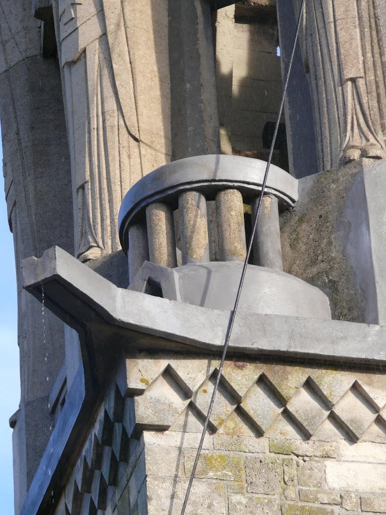 Détail du clocher