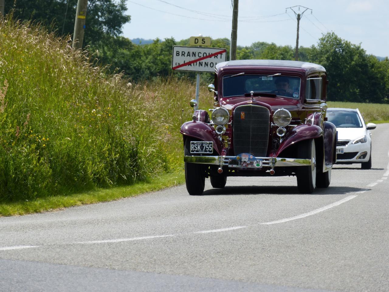 Circuit de la montée historique 2015  - Cadillac V12 de 1933