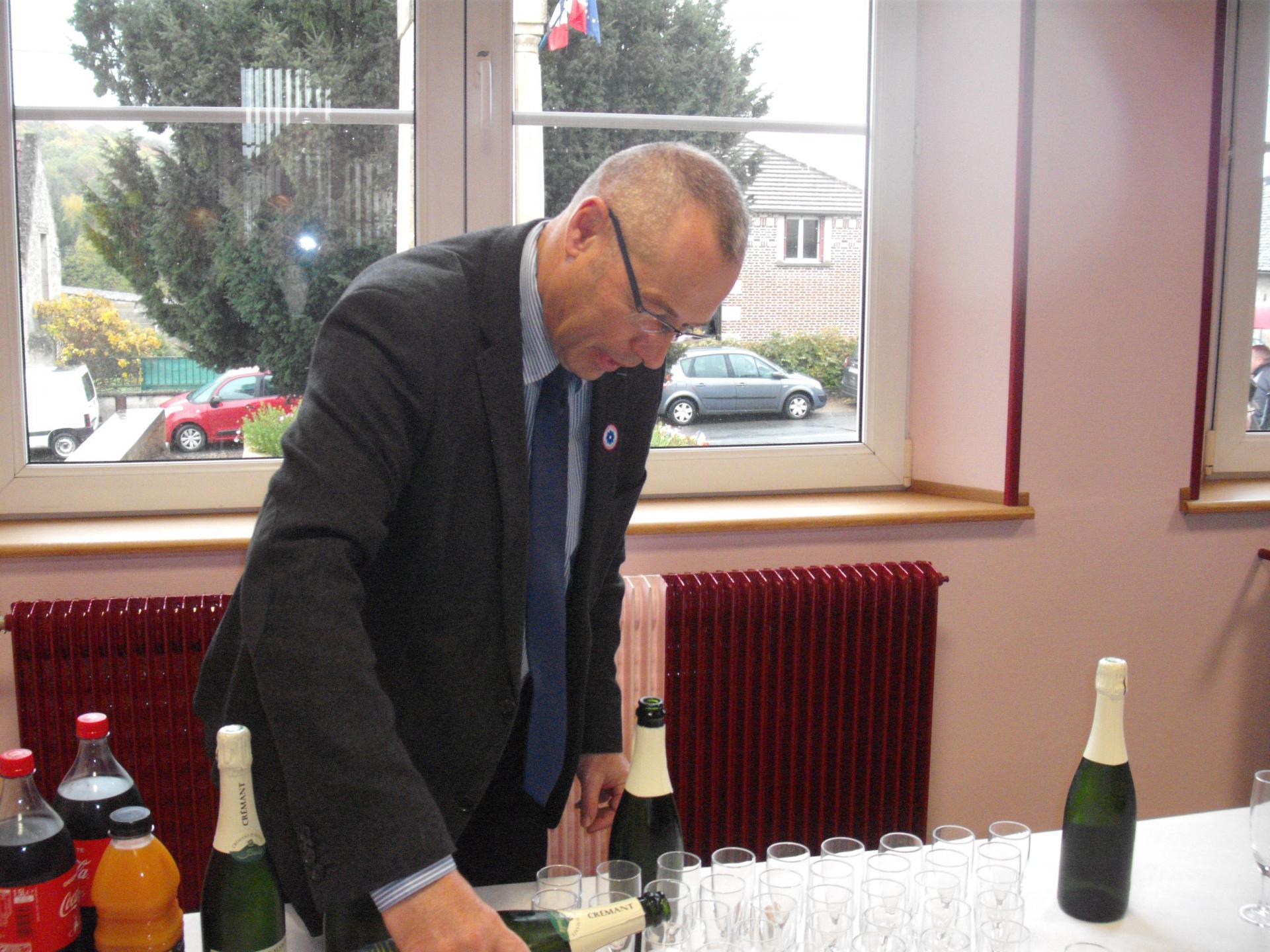 Le vin d'honneur