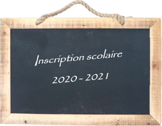 Tableau inscription 2020 2021